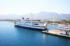 ferry boat - stock photo