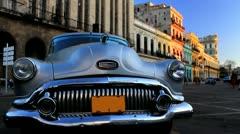 Cuba Habana Buick Stock Footage