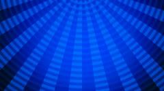 Blue lights fan Stock Footage