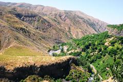 Armenian landscape Stock Photos