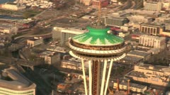 Space Needle 3 Stock Footage
