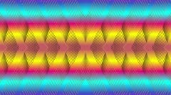 Abstract background of rainbow Stock Footage