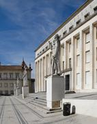 faculty of philosophy at university of coimbra - stock photo