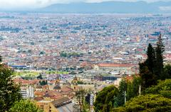 View of Bogota, Colombia Historic District - stock photo