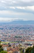 Cityscape View of Bogota, Colombia - stock photo