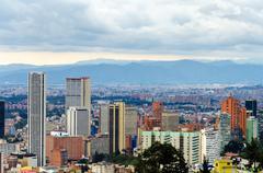 Bogota, Colombia Skyline - stock photo
