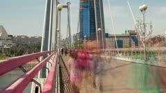 Bridge, Time Lapse, Long Exposure Stock Footage