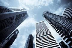 Urban cityscape Stock Photos