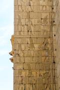 Karnak temple in luxor, egypt, detail Stock Photos