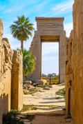 Karnak temple in luxor, egypt. Stock Photos