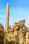 Karnak temple in luxor, egypt. Stock Photos
