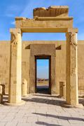 Hatshepsut temple in the valley of the kings Stock Photos