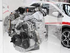 Power car engine new technology Stock Photos