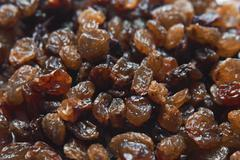 Stock Photo of raisins background