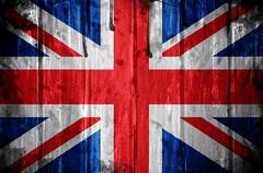 United kingdom flag background Stock Photos
