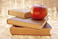 Stock Photo of fresh red apple