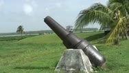 Stock Video Footage of Suriname, fort new amsterdam