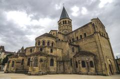 Stock Photo of paray le monial church