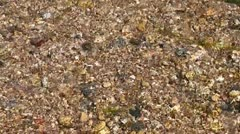 Water Rushing Over Pebbles I Stock Footage