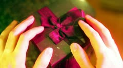 Present lust want gift Stock Footage