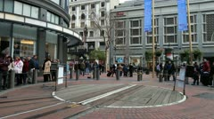 Time Lapse of San Francisco Cable Car Station -   4K - 4096x2304 Stock Footage