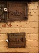 Antique oven Stock Photos
