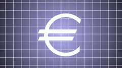 The logo of euro destruction Stock Footage