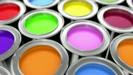 Stock Video Footage of paints