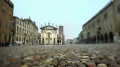 Mantova and its square. Stock Footage