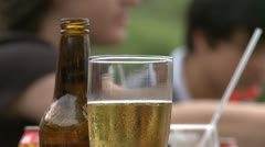 beer friends and fellowship - HD - stock footage