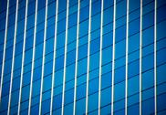 Reflection in building Stock Photos