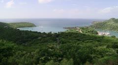 Antigua Bay - stock footage