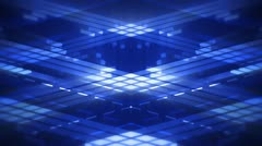 The Grid Blue Stock Footage