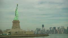 LP NY StatueOfLiberty 143 Stock Footage
