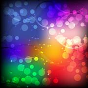 Stock Illustration of background image bokeh with colorful .vector is eps.10