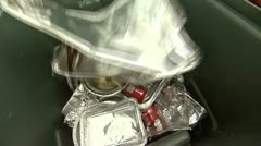 Recycle 13 - Aluminum - stock footage