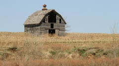 Vintage Barn Just Right Stock Footage