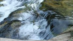 Huayluang Waterfall at Ubonratchathani Province, Thailand Stock Footage