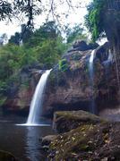 haew suwat waterfall - stock photo