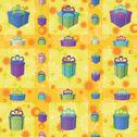 Gift boxes, seamless background Stock Illustration