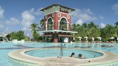 Antigua Sandals Resort Stock Footage
