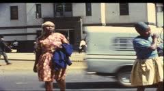 Nairobi, Kenya, Africa, 1970 (vintage 8 mm film) Stock Footage