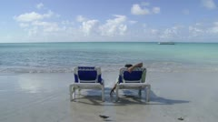 Antigua Sandals Resort Stock Footage