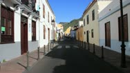 Stock Video Footage of San Sebastian de la Gomera. Street view. 15.04.13