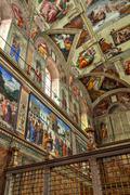 Sistine chapel 03 - stock photo