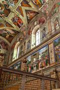 Sistine chapel 05 - stock photo