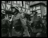 Stock Video Footage of World War 2 - Soldiers March