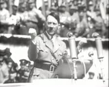 World War 2 - Adolf Hitler Stock Footage