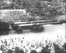 Stock Video Footage of World War 2 - German Parade
