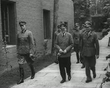 World War 2 - Adolf Hitler Stock Footage